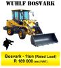 Frontend loader & 4x4 Forklift