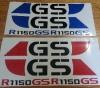BMW R1150GS decals stickers gr