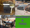 Machinery and tools for sale