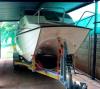 18 ft Z Craft Striker Ski Boat,fish finder