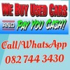 SELL YOUR CAR TODAY!CASH ON THE SPOT & FREE TOWING