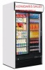 *DOUBLE DOOR COKE FRIDGE BRAND NEW,