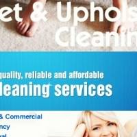 CARPET, UPHOLSTERY AND HOUSE CLEANING SERVICES