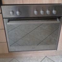 Whirlpool Thermo Oven undercounter, stainless steel hob
