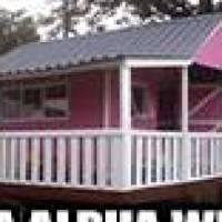 AA Alpha Wendy houses., log houses, tool sheds