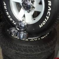 """15"""" bakkie mag rims and tyres for sale"""