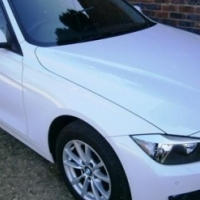 White 2013 BMW 3-Series with 50000km available now!