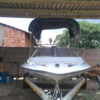 Speedboat 85hp yamaha electric trim and tilt