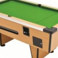 2X Pool tables for sale.  with coin machanism