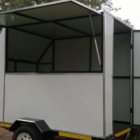 Mobile kitchens Built to client specifications