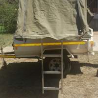 Trailer with tent for sale