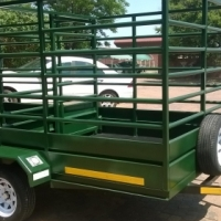 Cattle trailers built to client specifications