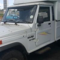 I have a Mahindra Bolero single cab courier, high volume, space saver canopy for sale.
