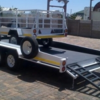 double axle galvanizes,road worthy and approved for sale