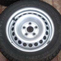 VW Kombi Rims and Tyres