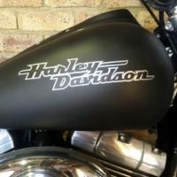 Harley Davidson tank decals stickers graphics