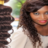 6A Casual Loose Curl 1pc Unprocessed Virgin Brazilian Hair