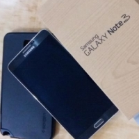 Samsung Galaxy Note 3 lte black as new with box