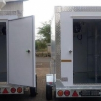 trailers with the best storage system for fresh meat,fresh milk and ice blocks