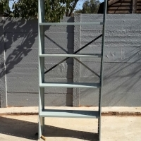 STEEL SHELVING & RACKING