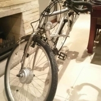 Electric Mercedes-Benz bicycle