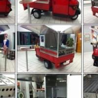 Mobile Fish & Chips Tuk Tuk Van