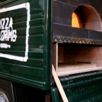 Piaggio Ape Pizza mobile van