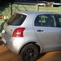 toyota yarris 2008 stripping for spares