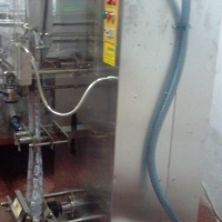 Automatic ice pop / Ice lolly packing machine.