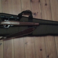 MUSGRAVE .22LR Straight-Pull Action. Serial # 22