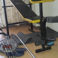 A Home Gym Set