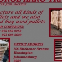 wooden and plastics pallets for sale