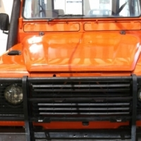 Land Rover V8 Lwb 4X4 with Canopy