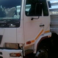 2009 Nissan UD 80 with Dropside body,Great condition