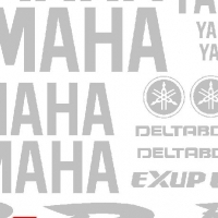 Yamaha YZF R1 decals stickers graphics kitd for a 2001 model bike