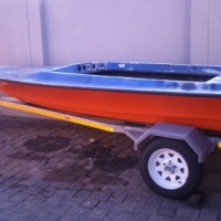 Boat and Trailer for Sale R7,700.00 ONCO