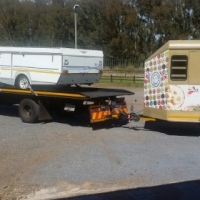 Caravan, Trailer & Boat transport PTA to Bloemfontein.