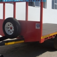 CUSTOM BUILD FLATBED TRAILERS.