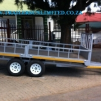 NEW FLATBED TRAILERS.