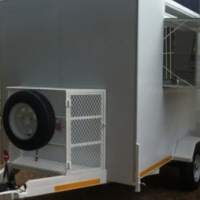 NEW CATERING TRAILERS.