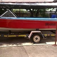 5Mtr Ski/Fishing Boat