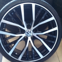 "ALL VW OWNERS!!!18"" VW SPECIAL EDITION MAGS & TYRES FOR POLO & GOLF"