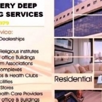 Houses & Accommodation Cleaning Services, Business & Commercial Offices