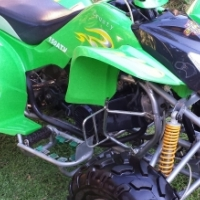 150 cc Crusty Racing Quad