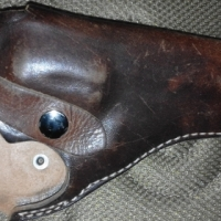 Leather Holster for 38 Special / 357 Magnum Revolver