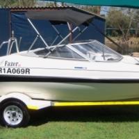 Yamaha 130 HP.Faser 16 ft speed boat.