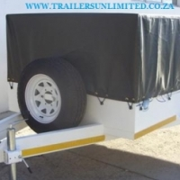 UTILITY TRAILERS AND PVC COVERS.