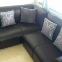 New corner lounge suite