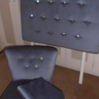 Headboard & Matching Chair for a Princess!