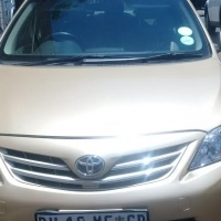 Toyota Corolla 2012, low km, fsh, balance of motorplan